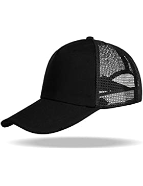 WinCret Sol Protección Sombreros Gorra de malla - Protector solar de secado rápido al aire libre Gorra con rejilla...