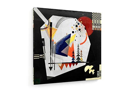 Wassily Kandinsky, DREI Klänge - 80x80 cm - Leinwandbild auf Keilrahmen - Wand-Bild - Kunst,...
