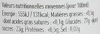 L'Epicurien Vinaigre à la Pulpe de Framboise 250 g