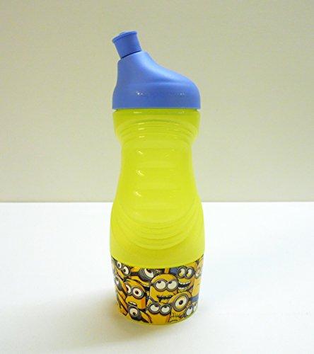 tupperware-sportfreund-klein-415-ml-gelb-blau-minions-c93-sportflasche-trinkflasche