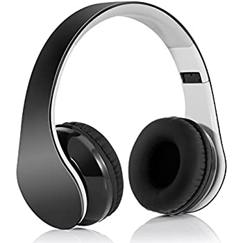 casque audio pliant kit mains libres sans fils bluetooth 4 1 hi fi st r o avec jack 3 5 mm et. Black Bedroom Furniture Sets. Home Design Ideas