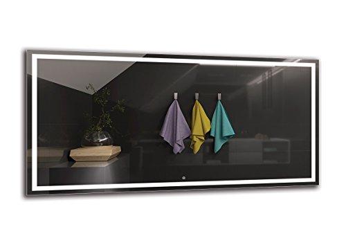 Espejo LED Deluxe   Dimensiones Espejo 200x100 cm
