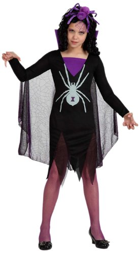Atosa 8422259150244 - Verkleidung, schwarze Witwe Mädchen, Größe: 116