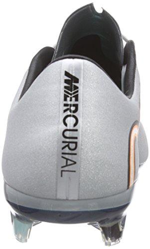 Nike - Mercurial Vapor X Cr Fg, Scarpe Da Calcio da uomo grigio (mtllc slvr/white-hypr trq-brgh)