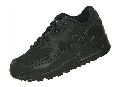 Nike Jungen Air Max 90 (PS) Laufschuhe, Schwarz/Grau (Schwarz/Dunkelgrau), 28 EU
