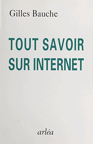 Tout savoir sur Internet
