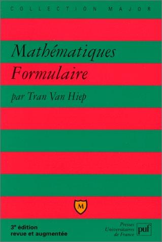 Mathématiques : Formulaire, 3e édition