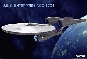 Star Trek XI :  La Future commence-Movie Poster (entreprise NCC - 1701 (taille) :  91 x 61 cm)