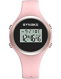 Reloj Digital para Niñas - Reloj De Deportes Al Aire Libre A Prueba De Agua De