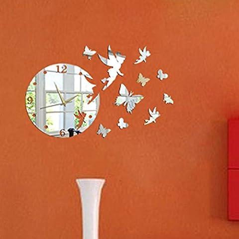 Decorazioni di Natale Halloween A3Desivi 3Da parete specchio stereo a3Desivi