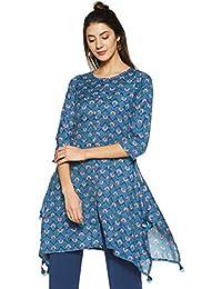 global desi Women's Floral Regular Fit Shirt