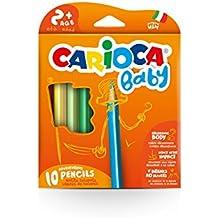 Carioca - Caja de 10 unidades Baby lápiz (42819)