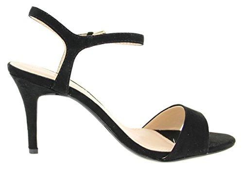 ESPRIT  047ek1w086/E001, Sandales pour femme Noir