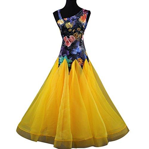 MoLiYanZi National Ballroom Dance Kleider für Frauen Wettbewerb -