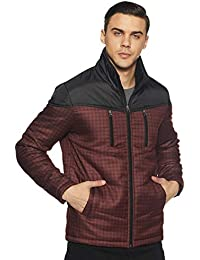 Endeavor Men's Quilted Jacket Maroon