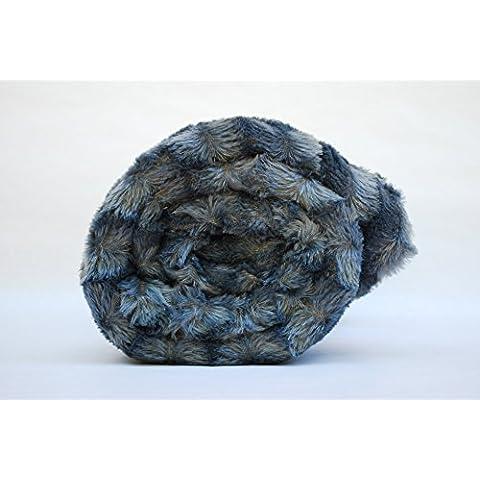 MANTA TACTO ULTRASUAVE GRIS. Varias medidas. (Gris 165x225 cm. Válida para sofá o cama de 90 cm.)