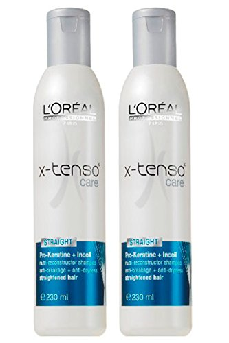 L'Oreal Professionnel X-tenso Care Straight Shampoo (230 ml) Pack of 2 image