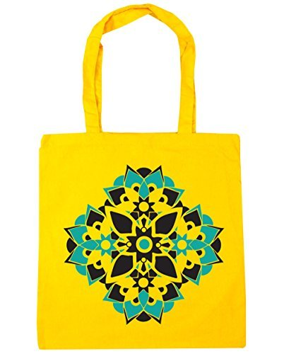 hippowarehouse-mandala-spiritual-pattern-tote-shopping-gym-beach-bag-42cm-x38cm-10-litres