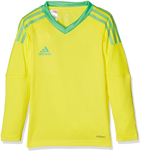 adidas Kinder Revigo 17 Torwarttrikot, Bright Yellow/Energy Green, 152