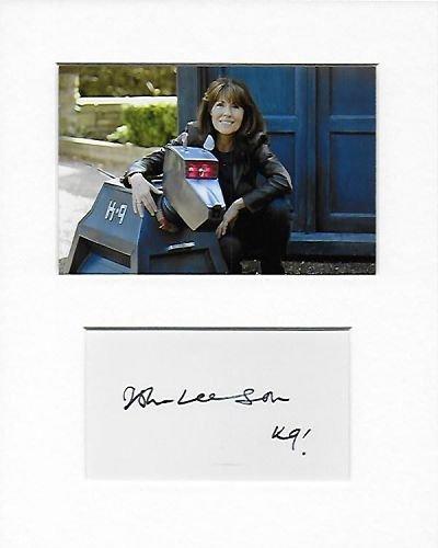 Doctor Who–voix du K9–John Larrikin authentique à la main signé autographe Aftal COA