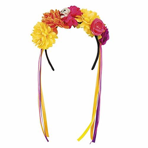 (Boland 72119 Haarreif Blumen, One Size)