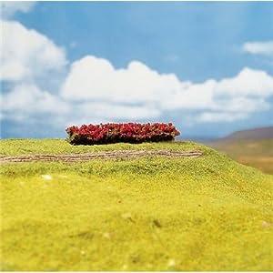FALLER 181358  - 4 Hedges, de flores rojas importado de Alemania