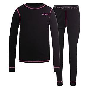 Icepeak Kinder Thermo-Unterwäsche BENI schwarz/pink