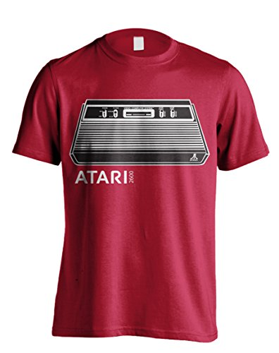 Atari 2600 Retro Video Games Console Arcade Offiziell Männer T-Shirt Herren (XX-Large) (Video Game T-shirt Tee)