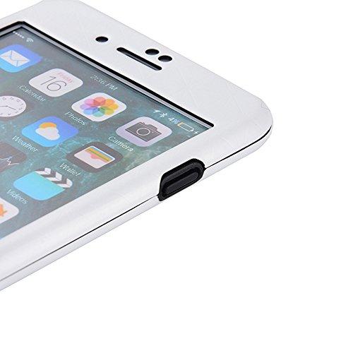 iPhone 6sPlus Hüllen, Schöne Damen Motiv CLTPY iPhone 6Plus Hard Plastic Komplettschutz Schale Etui mit Schön Pinke Blume für Apple iPhone 6Plus/6sPlus + 1 x Freier Stylus Weiß A