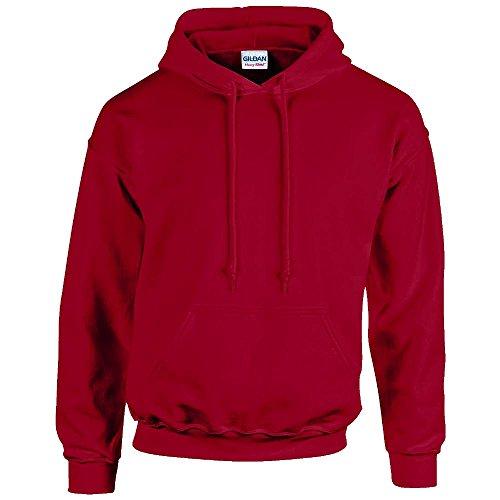Gildan - Unisex Kapuzenpullover 'Heavy Blend' , Cardinal Red, Gr. L