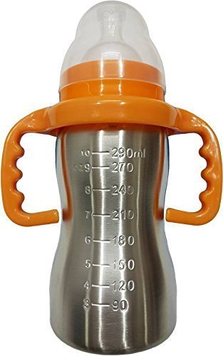 8. RIANZ Thermal Insulation Stainless Steel Baby Feeding Bottle