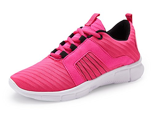 UMmaid Womens Lightweight Walking Trainers Lace up Fashion Sneakers Gym Sports Shoes