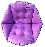 AINIYUE Sitzkissen, weiche Premium-Kissenpolster, bieten Komfort für Auto, Bürostuhl und Rollstuhl für Hüftrücken Ischias Schmerzlinderung 18,89x21,65x9,05 Zoll Pflaume