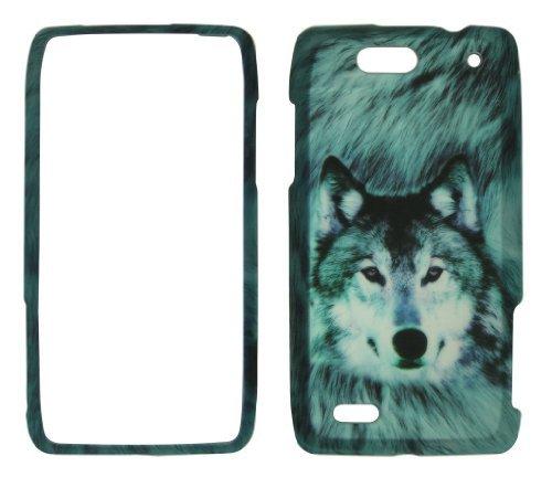 Droid 4 Snap (Snow Wolf Motorola Droid 4/XT894Case Cover Handy Hard Cover Fall Snap an Blenden)