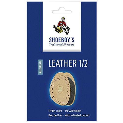 Shoeboy's Leather 1/2 - Lederhalbsohle zum Größenausgleich - Größe 35/36, 1 Paar