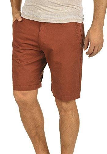 !Solid Thement Herren Chino Shorts Bermuda Kurze Hose aus 100% Baumwolle Regular Fit, Größe:M, Farbe:Fox Brown (6792) Slim Leg Chino Pants