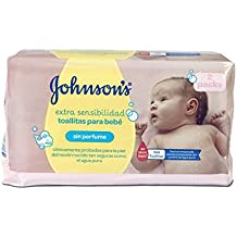 Johnsons Baby Toallitas Bebé Sensitive ...