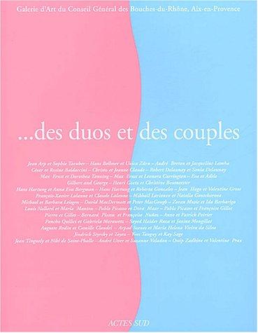 Des duos et des couples par Collectif