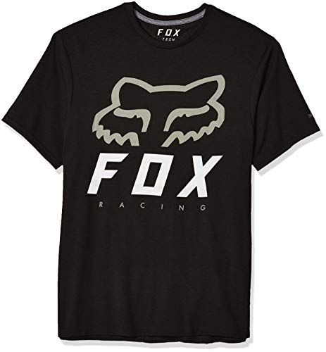 Fox T-Shirt Heritage Forger Tech Black/Black M