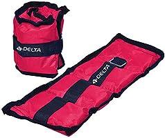 Delta AYK-AGRLG-FEA471 Delta Fuşya Çiftli Ayak & El Bileği Ağırlığı - 2 Adet X 1 Kg. Unisex, Tek Renk, Tek Beden