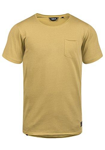!Solid Andrej Herren T-Shirt Kurzarm Shirt Mit Rundhalsausschnitt Aus 100% Baumwolle, Größe:L, Farbe:Prairie Sand (4915) -