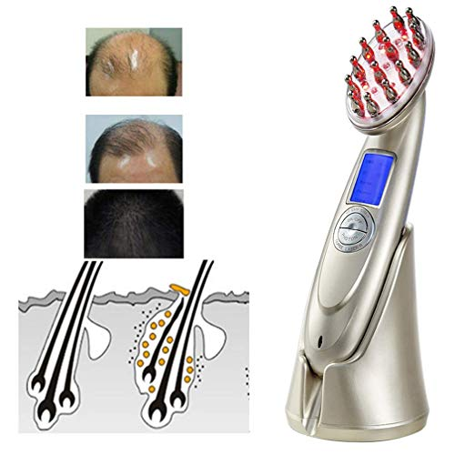 Elektrischer Haarwuchs, Haarbehandlungs-Kamm für Frauen und Männer mit dünneren Haie überlegener Regrowth-Therapie Kämme
