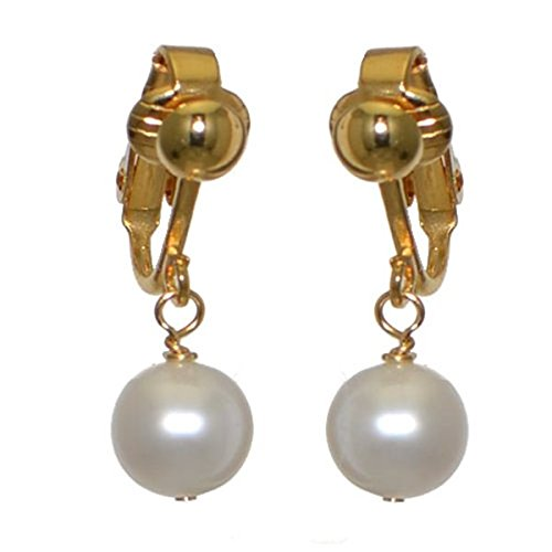fresca-uno-gold-plated-10mm-freshwater-pearl-clip-on-earrings