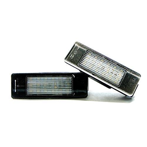 2 x LED Kennzeichenbeleuchtung Lampe Kennzeichen Leuchte Xenon 6000K