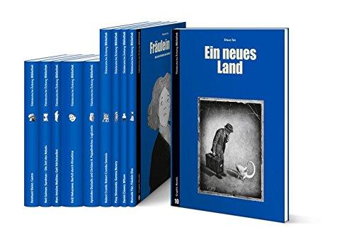 SZ Graphic Novels Staffel 2: Castro / Sandmann / Gott höchstselbst / Barfuß durch Hiroshima / Logicomix / Genesis / Gemma Bovery / Wilson / Fräulein Else / Ein neues Land