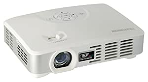 Telefunken DLP500 WiFi Mini LED-DLP Projektor (WiFi, Android, 1280 x 800 Pixel, 500 ANSI Lumen, Kontrast 1000:1, HDMI 1.4, VGA, USB 2.0)