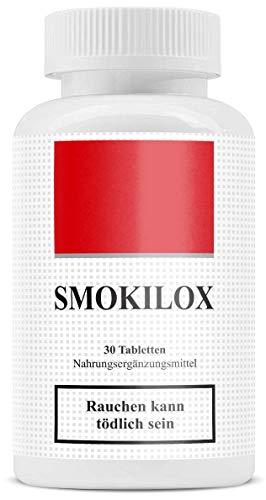 Smokilox | Endlich Nichtraucher | ohne Nikotin | Mit dem Rauchen aufhören | Rezeptfrei | 100{eb867652ace167f85fa7a7690e4b1ceb4ddfe64489c0a907c6017dcd04c8ffd5} natürlich
