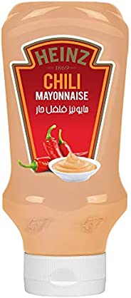 Heinz™ Mayonnaise, Chilli, Top Down Squeezy Bottle, 400ml