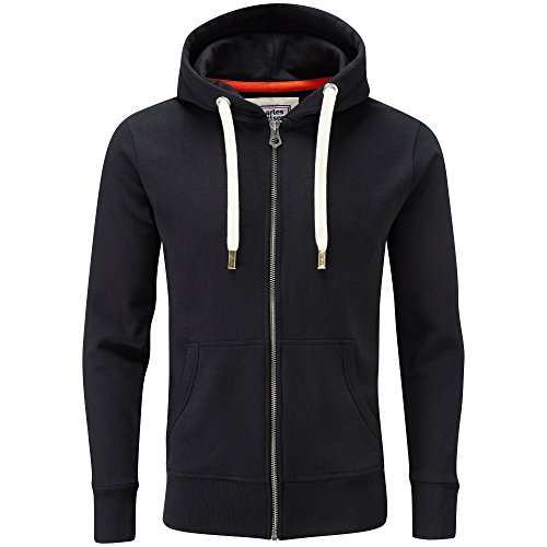 Charles Wilson Originals Zip Hoody (Black, XXX-Large)