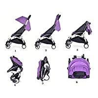 Baby Throne Mini portable Stroller - Purple